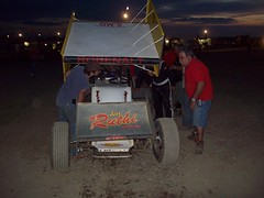 107_0333 (bruce98driver) Tags: park car fast racing fremont 98 dirt bryan and title sprint flipper 2010 attica raceway sabeto robenalt team98