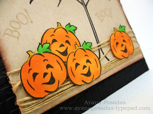 Halloween Card- Bare Tree (3)