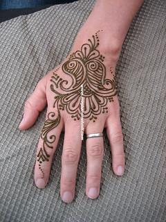 Swirly hand