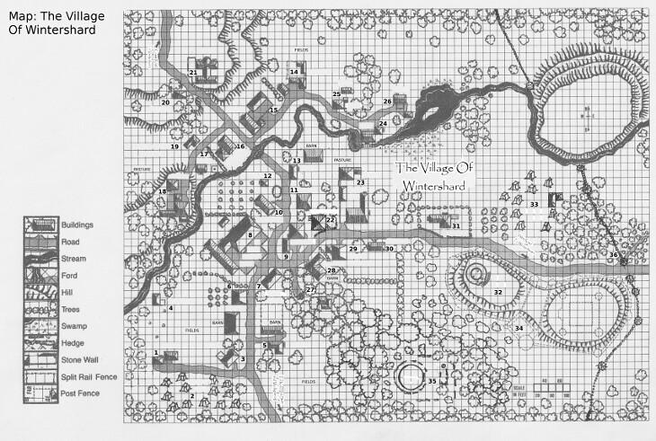 Map of Wintershard
