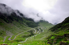 Transfgran (sonykus) Tags: road panorama mountain green nature misty clouds high open cloudy altitude great wide pass rocky romania transylvania slopes sibiu topgear jeremyclarkson richardhammond transfagarasan motorists carpathianmountains jamesmay 2035m themotherofallroads