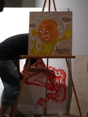 collabo (superk8nyc) Tags: ny art scott gallery auction roycebannon aclu ferguson royce bannon 2010 nyclu tincaart