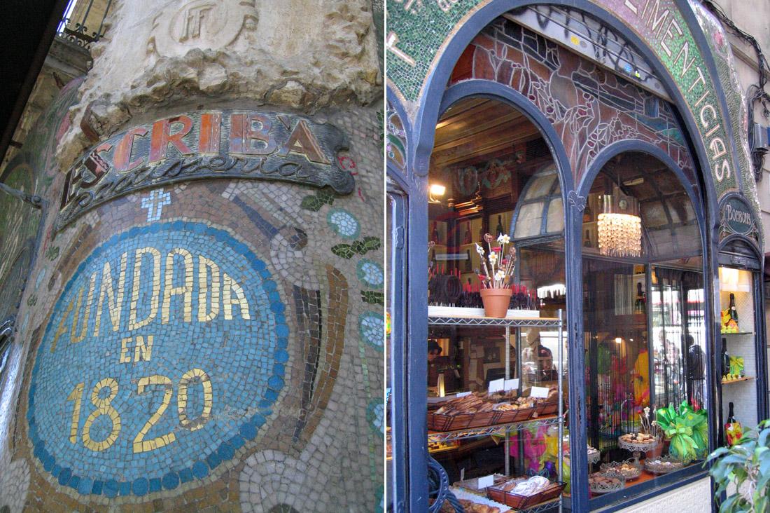 Escribá, Barcelona