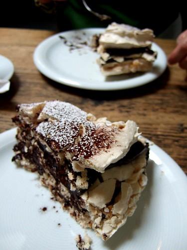 La Fromagerie meringue cake 2