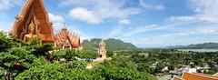 Vue du haut du temple