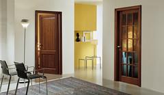 Mod. 2B - Mod. 15V IN ROVERE TINTO (Infissi Alberti) Tags: porte che con interni legno vetro arredamento interne massiccio garofoli classiche arredano