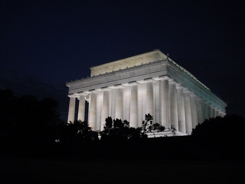 Nighttime At the Lincoln Memorial