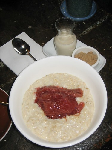 porridge for breakfast