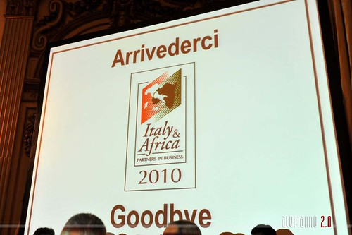 Italy & Africa Partners in Business 2010