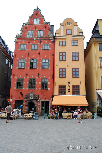 Iconic buildings in the old town