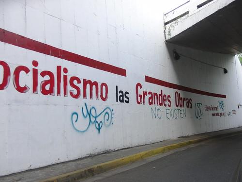 en el socialismo las grandes obras... no existen