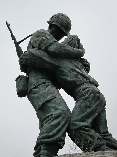 Statue of Brothers (Soliders from South and North Korea )