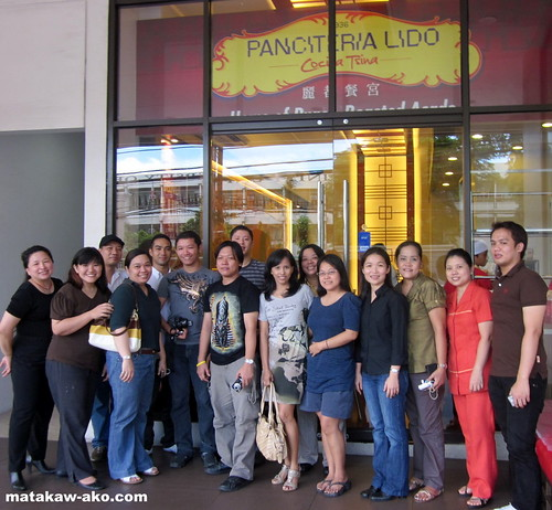 Bloggers at Panciteria Lido