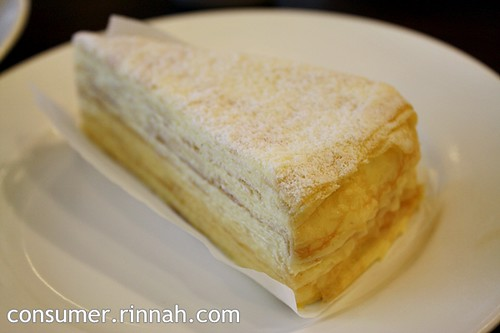 Mille Crepe Cake @ The Huckleberry Cafe