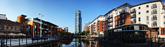 No1 Tower Gunwharf Quays Panorama