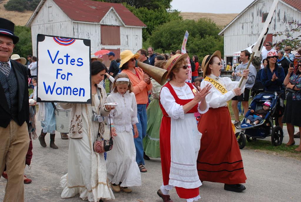 Suffragettes in The Wilder