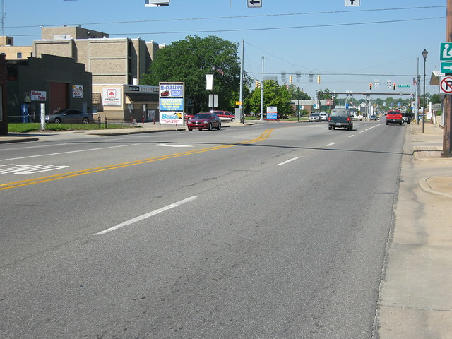 US 50 in Seymour, Indiana