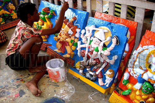 Artistic touch giving by art :: Rathyatra 2010