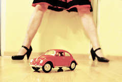 let's play (my lala) Tags: red vw bug toy play beetle buba letsplay