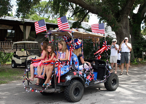 A Ride in the Clamerica Parade