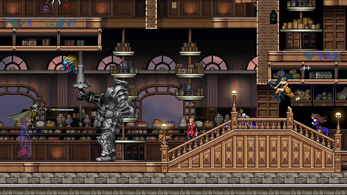 Castlevania Harmony of Despair screenshots (Xbox 360, XBLA)