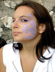 Arabesque (l'UomoLunatico) Tags: woman girl face painting donna makeup sabina youngwoman viso lazio ragazza arabesque trucco rieti casperia latium arabeschi visotruccato casperiafestival