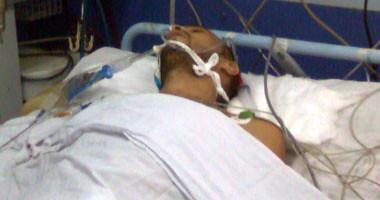 محمد صلاح ضحية التعذيب فى المستشفى