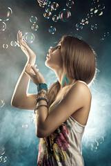 (Csheemoney) Tags: lighting girl fog fairytale studio lights blowing blow fairy fantasy backlit retouch baloons strobist nostrobistinfo csheezio cshee csheemoney nemanjapesic removedfromstrobistpool seerule2