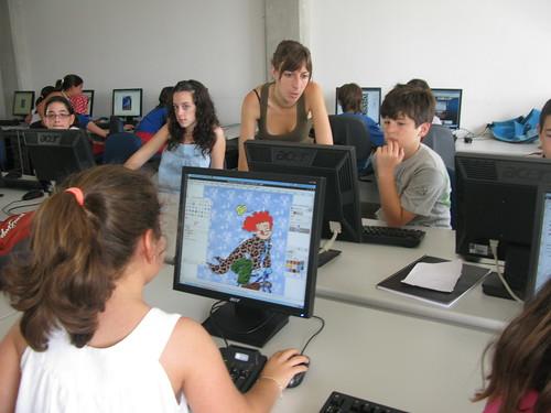 Segunda semana del campus infantil de software libre