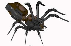 Arragog small (DS) version (bricktrix) Tags: spider lego harrypotter harrypottervideogame arrogog