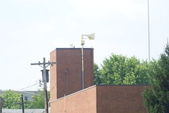 Federal Signal Thunderbolt 1000 siren Cincinnati, Ohio (carexpertandy) Tags: county ohio storm weather sign cincinnati air hamilton civil northside oh raid tornado signal defense siren 1000 severe thunderbolt fedeal