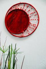 Another Off-the-Wall Abstract! (antonychammond) Tags: abstract art wall malvern rhs royalhorticulturalsociety flickraward estremit malvernspringgardeningshow nikonflickraward vividstriking
