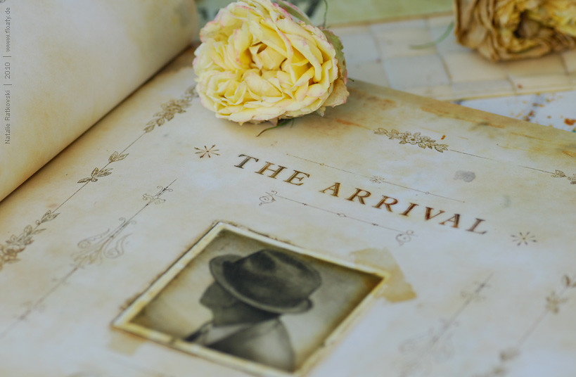 """""""The Arrival"""" at home :-)"""