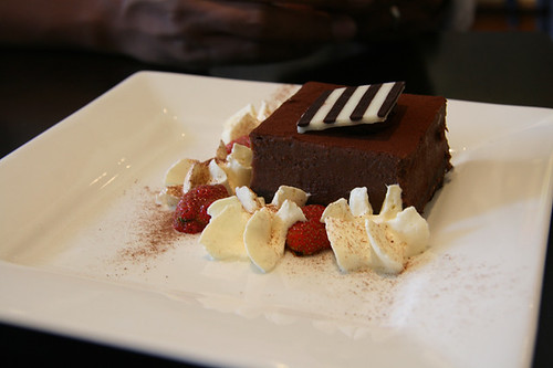 The Chocolate Room's Chocolate Cake