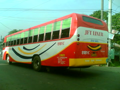 JFT Liner 8181-C (Bus Ticket Collector) Tags: bus pub philippines diehards nissandiesel sjdm pbpa ordinaryfare cityoperation jftliner jacintoftorres philippinebusphotographersassociation