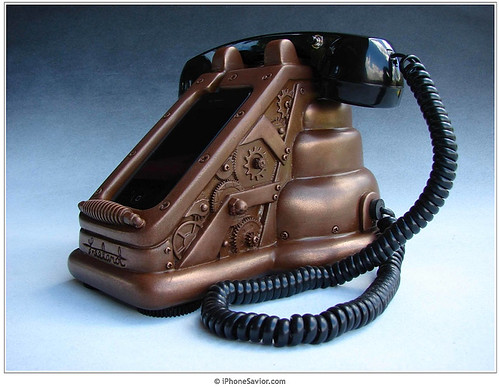 iRetrofone Copper Steampunk iPhone 4 Dock