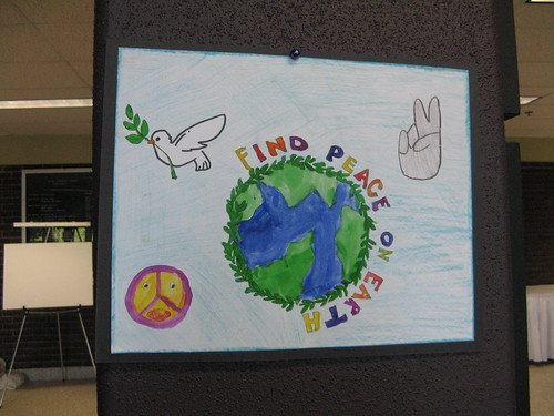 Peace art at the peace conference