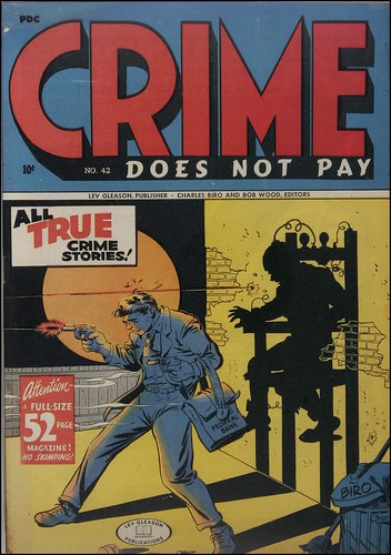 Crime Does Not Pay #42