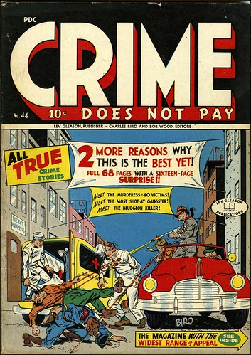 Crime Does Not Pay #44