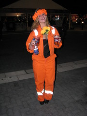 Netherlands v Uruguay, Green Point Stadium, Cape Town (Marc_P98) Tags: world orange flower green cup netherlands beer point uruguay fan town jump time stadium fifa semi suit final half cape guantanamo