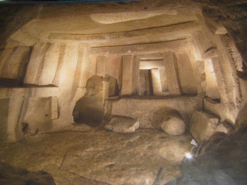 Photo of picture from Hypogeum book