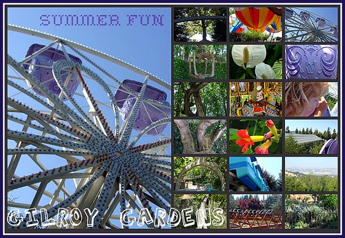 Gilroy Gardens Collage