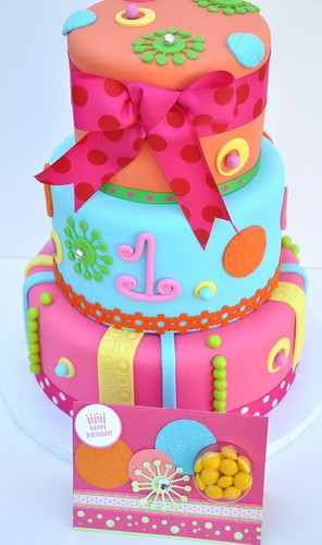 Candy Cake w Invite