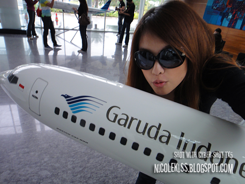 camwhore with plane model