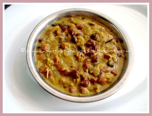 Sprouted Kala Channa Kurma
