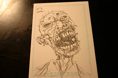 Zombie card 2 inks