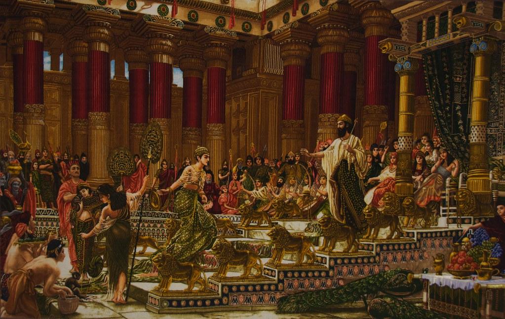 Photorealistic Carpet - Court Scene (Best Viewed