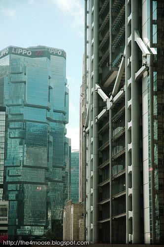 Lippo Centre 力寶中心 & HSBC Main Building 香港上海滙豐銀行總行大廈