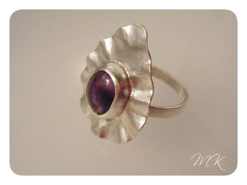 ruffle amethyst ring 5
