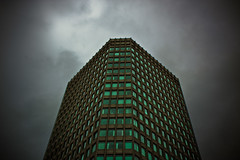 Capital Tower, Cardiff (Fotojuno) Tags: windows sky building clouds skyscraper architechture cardiff highrise capitaltower pearlinsurancebuilding